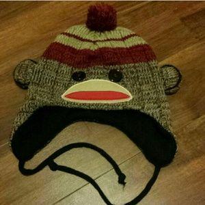 Accessories - Sock monkey hat