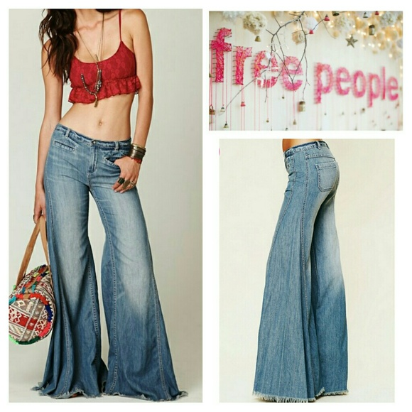 43% off Free People Denim - Free People Vintage Flare Leg Jeans ...