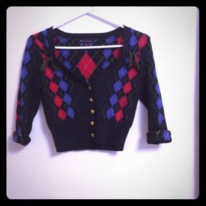 Vintage cropped betsey Johnson sweater