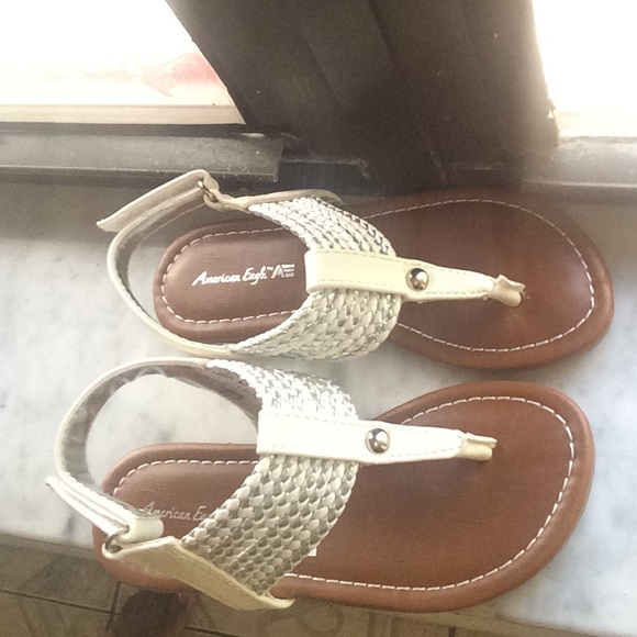 Girls White Thong Sandal | Poshmark