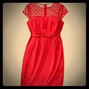 NWT Kate Young for Target red dress.