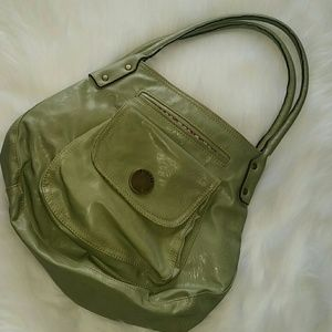 Olive Green Axcess Purse