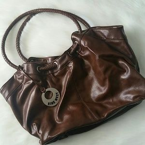 Brown Leather Nine West Purse