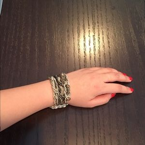Mixed Metal Chain Bracelet