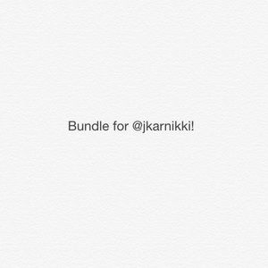 Bundle for @jkarnikki