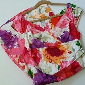Suzi Chin Dresses & Skirts - Suzi Chin Floral Dress