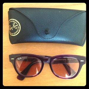 Ray Ban Laramie Special Series - purple
