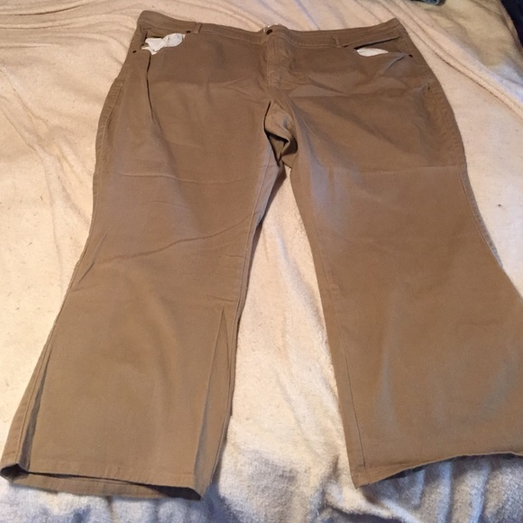 watch great deals on fashion top-rated quality Dark khaki women's plus size pants