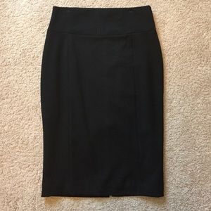Express Pencil Skirt- Black NWT