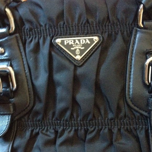 32% off Prada Handbags - ??HP??PRADA Tessuto Gaufre Nylon ...