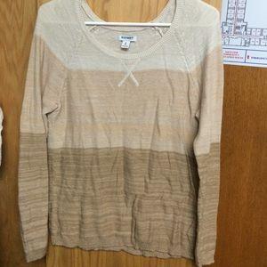 Light spring sweater
