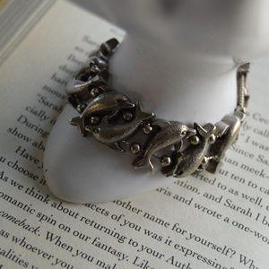 Jewelry - 🐬Silver Dolphin Charm Slide Bracelet🐬
