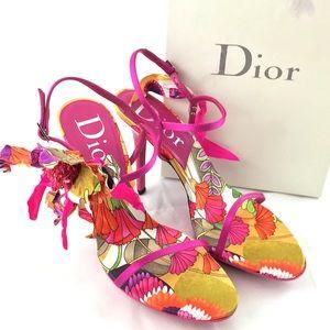 Christian Dior Fuchsia Sandals, IT 38