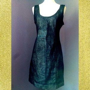 Paris Hilton Dresses & Skirts - Iridescent denim Paris Hilton dress