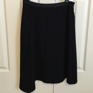 Banana Republic Black Asymmetrical Skirt, size 2