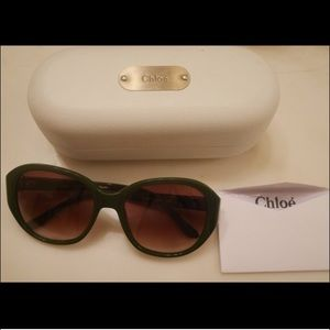 Authentic Chloe Sunglasses Made In France