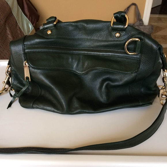 69% off Rebecca Minkoff Handbags - Dark Green Leather Rebecca ...
