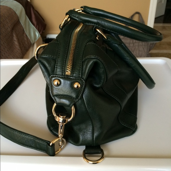 69% off Rebecca Minkoff Handbags - Dark Green Leather Rebecca ...
