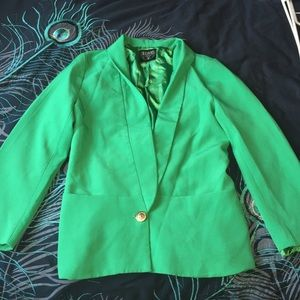 Green blazer, perfect for st Patrick's day