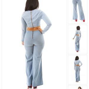 Pants - Bell bottom pants and matching top. 3d2a83c61