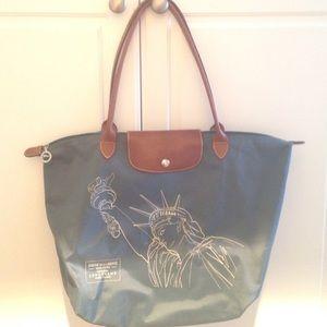 1af4ff0b348a Longchamp Bags - Longchamp Le Pliage NYC bag. Limited edition.