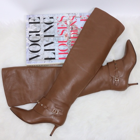 SOLD Valentino Rockstud Tall Boots Over the Knee
