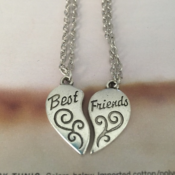 2 best friend necklaces 5 available os from o s closet on