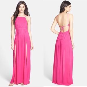 Wildfox Dresses & Skirts - 🆕NWT Wildfox Maxi Dress Swim Coverup Hot Pink