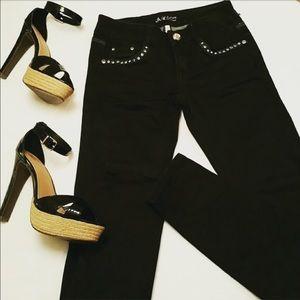 H&M Denim - H&M Black skinny jeans