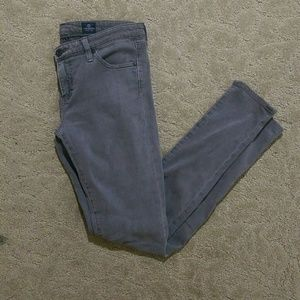 AG Grey Denim leggings size 28R