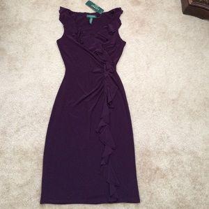 Ralph Lauren ruffled dress