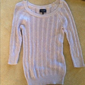 American Eagle lavender sweater