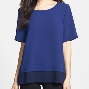 🎉HP🎉 Bobeau Short Sleeve Boxy Top