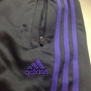 9e5fa56dfd8c Adidas Jackets   Coats - Small purple Adidas soccer sweats!!!😁😁