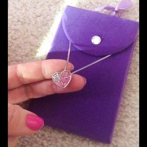 Jewelry - Rhinestone Heart Necklace