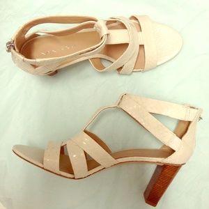 Via Spiga Shoes - Via Spiaga Snakeskin Sandals NEW