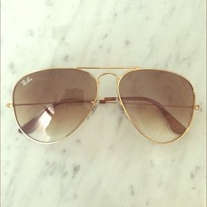 Authentic Ray Ban aviators with case