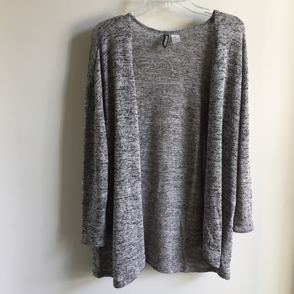 77% off H&M Tops - H&M || Speckled Grey Cardigan from Ariana's ...