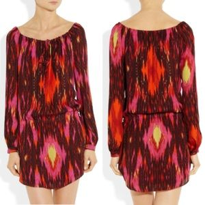Haute Hippie Dresses & Skirts - ⬇️Haute Hippie 100% Silk Ikat Print Dress XS