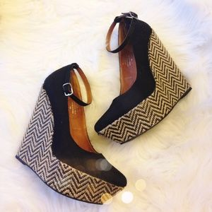 Jeffrey Campbell Shoes - Jeffrey Campbell Pizan Fab Wedges