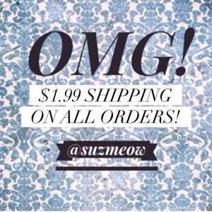 Ask me for $1.99 shipping- Ends tonight!