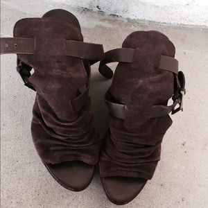 Steven by Steve Madden wedge booties