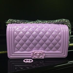 40c8ef3c67fa Toy Boy Bags -  Chanel Fun  Hong Kong brand Jelly Toy Boy bag 25