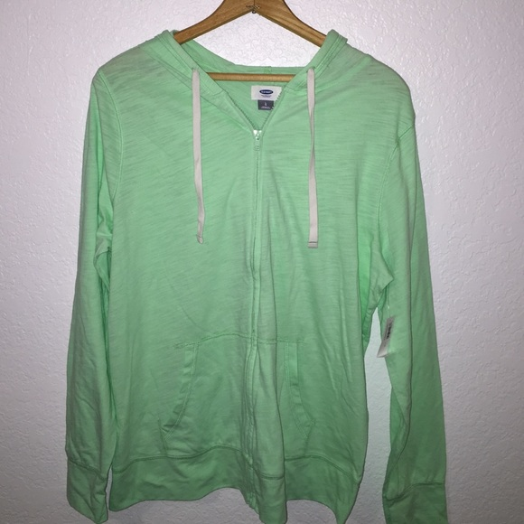 Old Navy - Old Navy Mint green lightweight zip-up hoodie L from ...