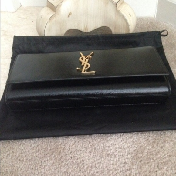 Yves Saint Laurent - ???sold on eBay???Authentic YSL Clutch ...