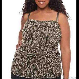 NW TORRID TANK TOP plus blouse SIZE 0X 2X 3X 0 2 3