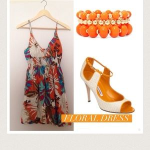She's So Cool Dresses & Skirts - Floral Sundress
