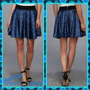 MINKPINK Dresses & Skirts - BOGO! 💕HP!☆ NWT - Sparkiling blue sequined skirt