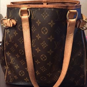 Louis Vuitton monogram tote.