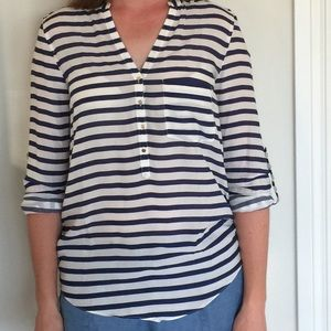 Zara Nautical Top